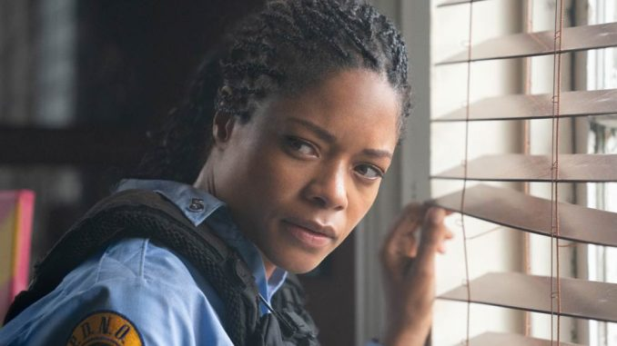 Alicia West (NAOMIE HARRIS) in BLACK AND BLUE