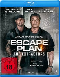 Escape Plan: The Extractors Blu-ray Cover