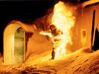 The Thing: in Flammen